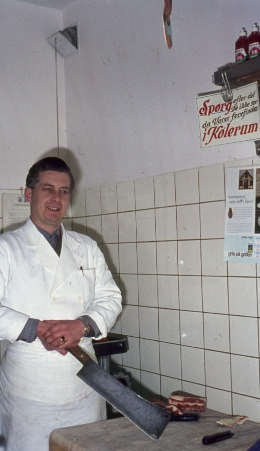 Slagter Louie Hansen, Hovedgaden 28