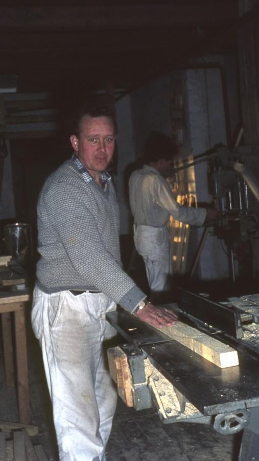Tømrermester Tage Johansen