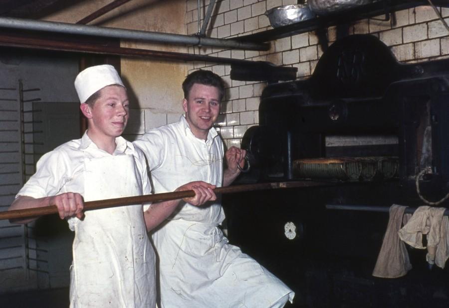 Ugerløse Bageri, Richard Rasmussen og Bent Mortensen
