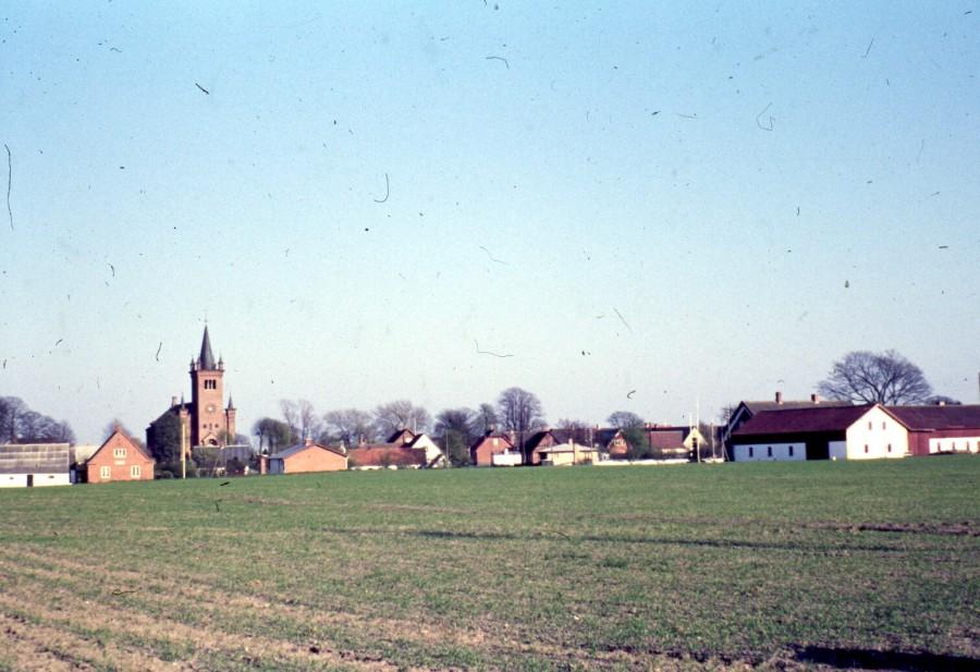 Ugerløse, Østrupvej og Højgården th