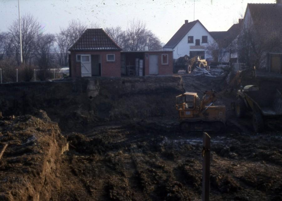 Friluftsbadet: Udgravning af det nye bassin