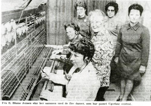 Damerne ved omstillingsbordet