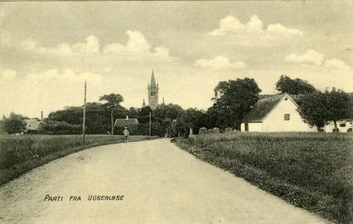 Østrupvej ca. 1914 - Billede 50 Th. er det Højgården, Østrupvej 112.