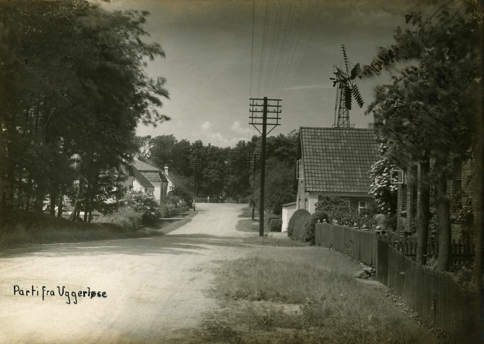 Bonderupvej ca. 1910