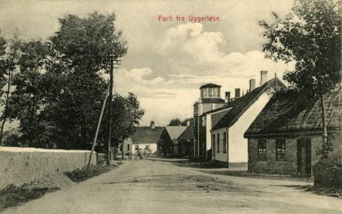 Hovedgaden - Billede 62 Billedet minder en del om billede 24 og er fra omkring 1920