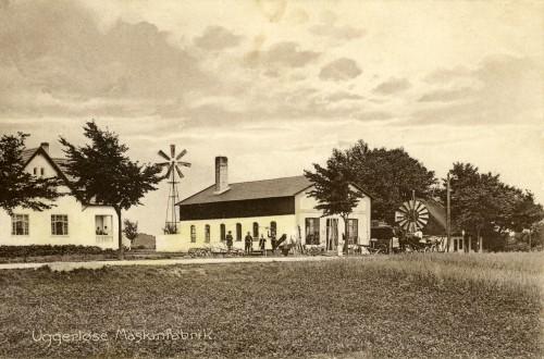 Uggerløse Maskinfabrik, Hovedgaden 59 ca. 1915 - Billede 31