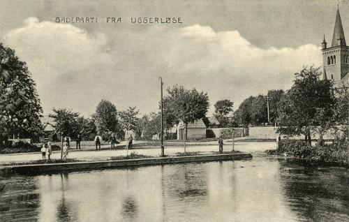 Gadekæret (nu Tingstedet) - Billede 63 Billedet er fra ca. 1910