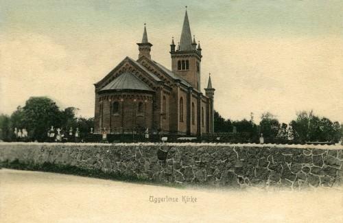 Uggerløse Kirke ca. 1900 - Billede 59