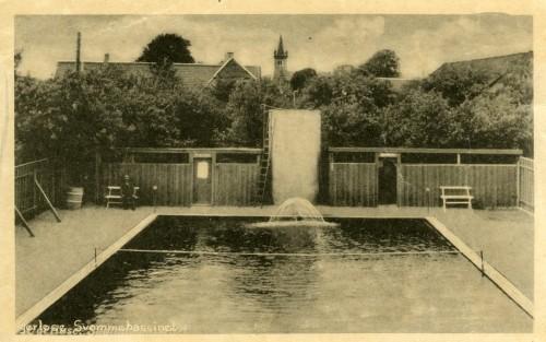 Ugerløse Friluftsbad ca. 1940 - Billede 40