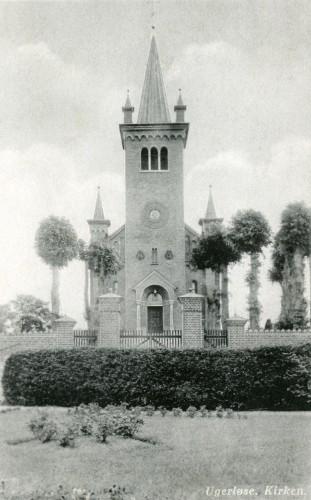 Ugerløse Kirke ca. 1940 - Billede 58