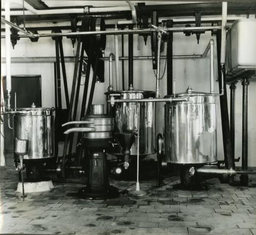 De moderne produktionsforhold på Andelsmejeriet Birkholm gav god kvalitet og gode priser til områdets bønder.