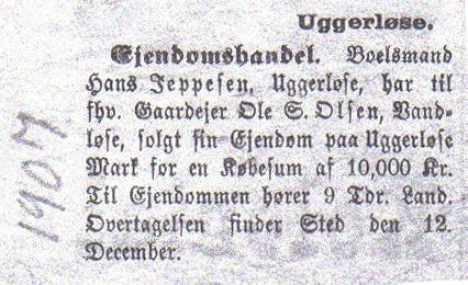 ejendomshandel 1907